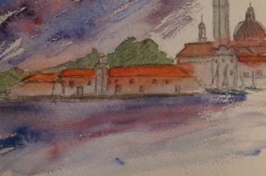 """San Giorgio Sketch (8"""" x 6"""")"""