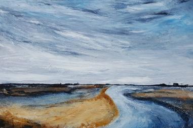 """Norfolk Skies (28"""" x 20"""")"""