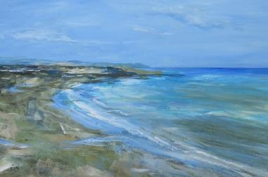 "Scarborough Beach (30"" x 20"")"