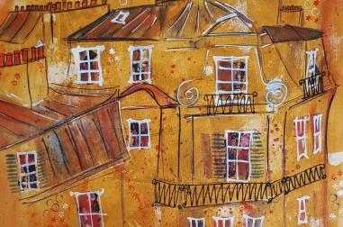 Golden Paris Rooftops