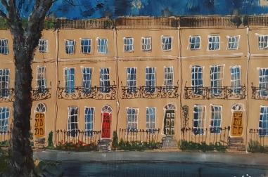 Regency Houses in Cheltenham