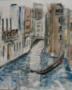 Collage - Venetian Canal