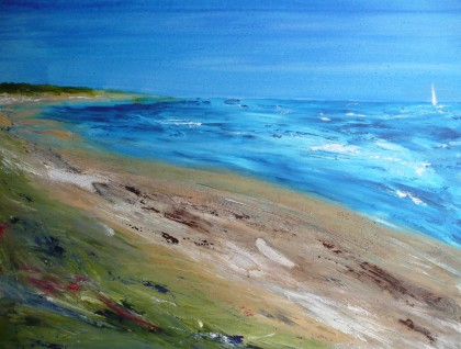 La Plage - SOLD to Private Collector Cirencester