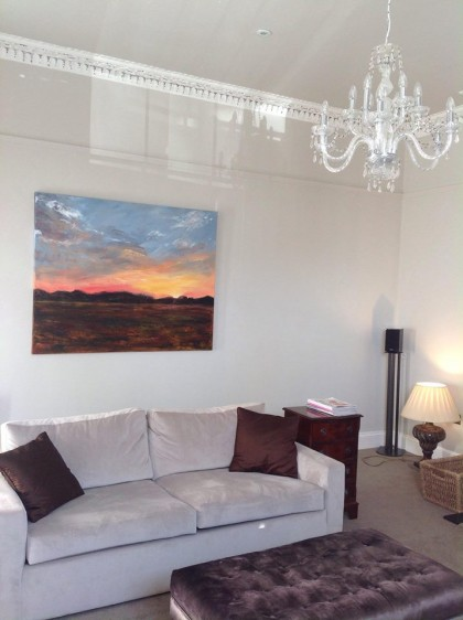 Sunset commission in Stephen Harper's beautifully restored Regency home